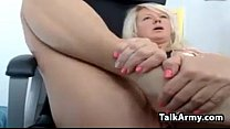 Horny Mom Masturbates And Squirts