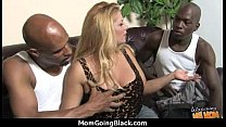 Mature MILF takes on big black cock 24