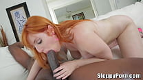 Lauren Phillips rides a BBC