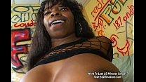 Big Ass Ebony Fucked On Her Ass Vorschaubild