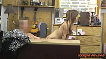 Hot body rocker chick pawns her guitar and her ... Thumbnail