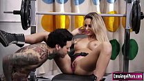 www youporn.com - Tattooed babe suck n fuck by her trainer thumbnail