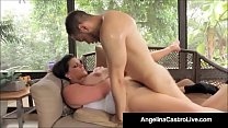 Cubas Porn Queen Angelina Castro Gets A Big Bla...