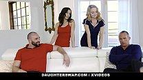 Only the Truest of Best Friends (Nikole Nash) (Spencer Bradley) Share Each Other's Daddies - DaughterSwap