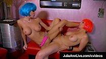 Horny SexBots Julia Ann & Jessica Jaymes Make Love Not War!