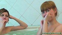 Screenshot College Lesbian  Threeway With Aspen And Kveta Aspen And Kveta