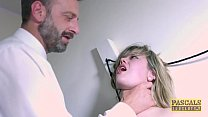 9679 Submissive English slut dommed and fed with masters cum preview