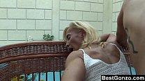 Mature Blonde Sucks And Fucks Vorschaubild