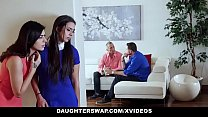 DaughterSwap - Two Teen Daughters Swap And Fuck Their Dads pornhub video