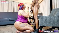 5482 Big butt redbone bbw Snickaz takes a big black cock on BBWHighway preview