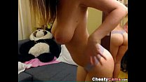 dani daniels spanking - Busty Girl Show Her Sexy Body For The Webcam thumbnail