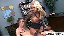 Busty Office Slut Girl Enjoy Hard Style Sex (britney shannon) vid-08