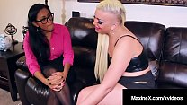Step Mom Maxine X Instructs Daughter N Law Skyl