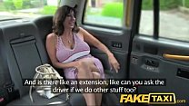 FakeTaxi Sexy milf with big tits does anal video