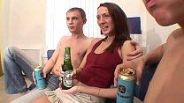 Russian threesome drunk Thumbnail