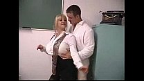 Sexy Blonde Secretary 1