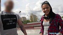 Public Agent Apolonia Lapiedra Fucked on Stairs as Boyfriend Waits thumbnail