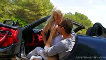 Blondie Goes For A Ride In The Car - Download mp4 XXX porn videos