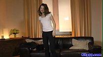 Seductive teen schoolgirl gets pounded