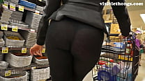 See-through leggings visible thong booty 25 preview image