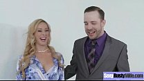 Big Tits Housewife (cherie deville) In Front Of Cam In Amazing Sex Action clip-11 preview image