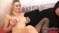 brazzers xnxx.com: Hot lesbian fuck double ended dildo thumbnail