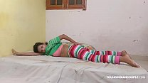 9579 Indian Cousin sister In Jegging Rubbing Her wet Pussy Asking Her Cousin Brother To Fuck Her preview