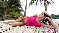 Paradise Gfs - Shooting Russian model in Paradise turns to into sex - Day 2's Thumb