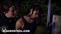 BLACK PATROL - MILF Cops With Big Tits And Thicc Asses Riding Criminal's Big Black Cock - 9Club.Top