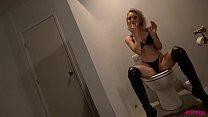 Slutty teen Dakota drooling on hard cock porn thumbnail