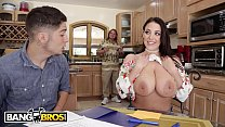 BANGBROS - Angela White Seduces Connor Kennedy With Her Natural Big Tits