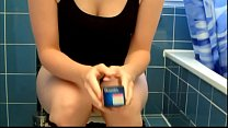 A sweet young woman removes tampons (Compilation)
