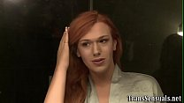 Ass pounded ts redhead