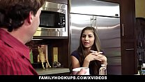 FamilyHookups- Horny Stepdaughter Offers Dad Handjob thumbnail