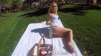 POVD - Teen babe Alex Grey turns a nice picnic into hot pov sex Vorschaubild
