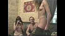 orgy, two beautiful girls with another guy Vorschaubild