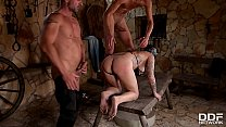 Blonde Slut Mila Milan DP & Rough sex Domination Image