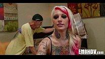 Emo slut with tattoos 0082