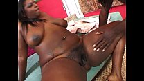 Black BBW rides huge dick