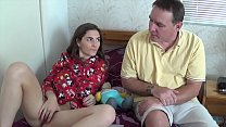Dad Reading Fairy Tales To Slutty Daughter's Thumb