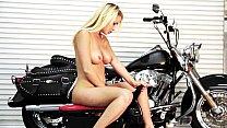 fake taxi lesbians - Mandy Armani rides the Rocker for Round Two thumbnail