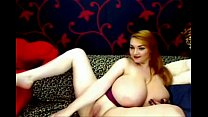 HUGE sexy tits teasing on webcam - myslutcams.net