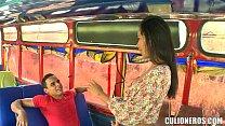 wifecravesblack - Sexy Latina Amateur On Bus thumbnail