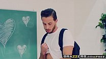 Image: Brazzers - Big Tits at School -  Desperate For V-Day Dick scene starring Brandi Love and Lucas Frost