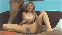 HD tiny asian teen dp 2 black dudes