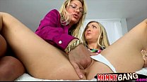 Karla Kush and Jennifer Best horny threeway with horny BF video