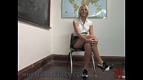 Blonde Girl Bound Spanked And Whipped