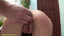 rule34 xxxx & babe extreme pumped and deep anal fucked thumbnail