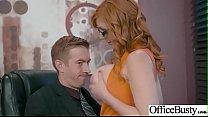 Busty Slut Office Girl (Lauren Phillips) Love Hardcore Sex video-17