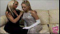 Brea Bennett and Emilianna Hot Lesbian Fingerfuck video